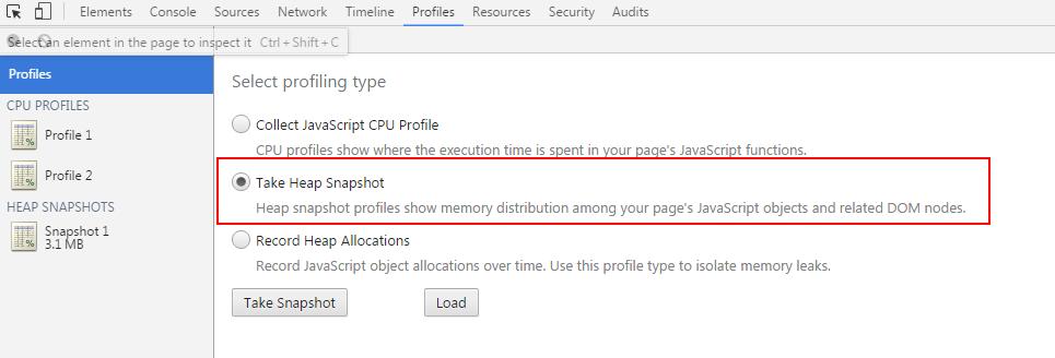 Chrome内存工具